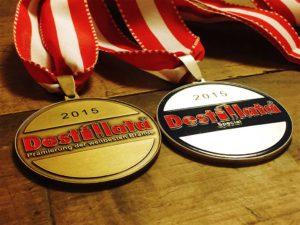 Die Medaillen der Destillata 2015