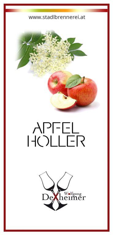 Etikett-Apfel-Holler