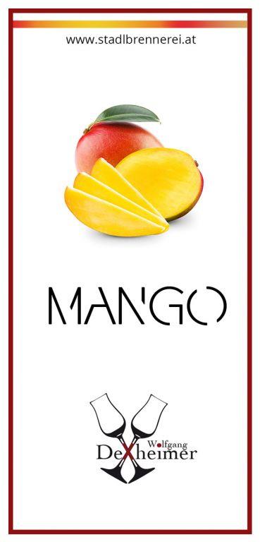 Etikett-Mango