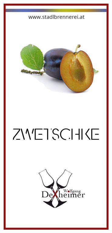 Etikett-Zwetschke